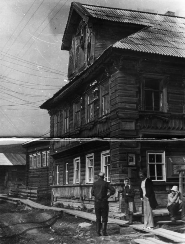 Историко-этнографическая экспедиция на Онежский полуостров (1972). Вторая справа – Л.В. Лопаткина.