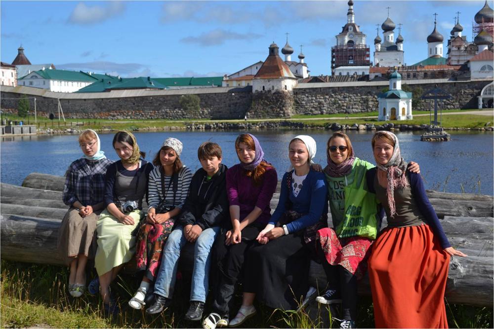 Группа студентов РГПУ