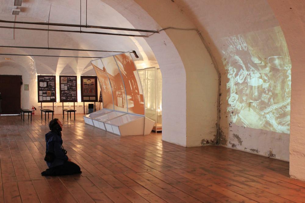 На музейной экспозиции в Ризнице