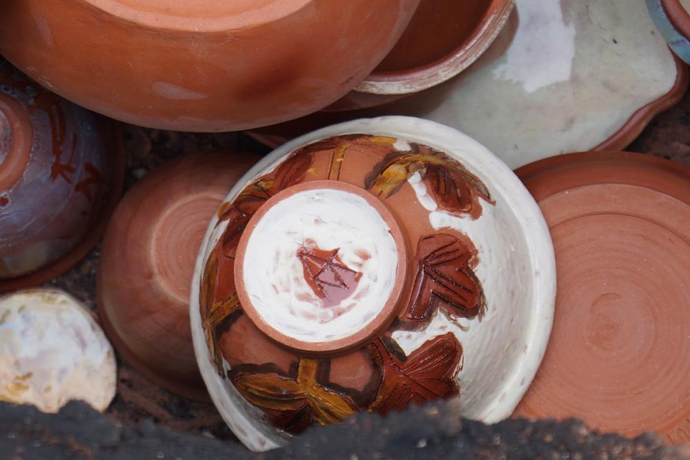 Закладка керамики