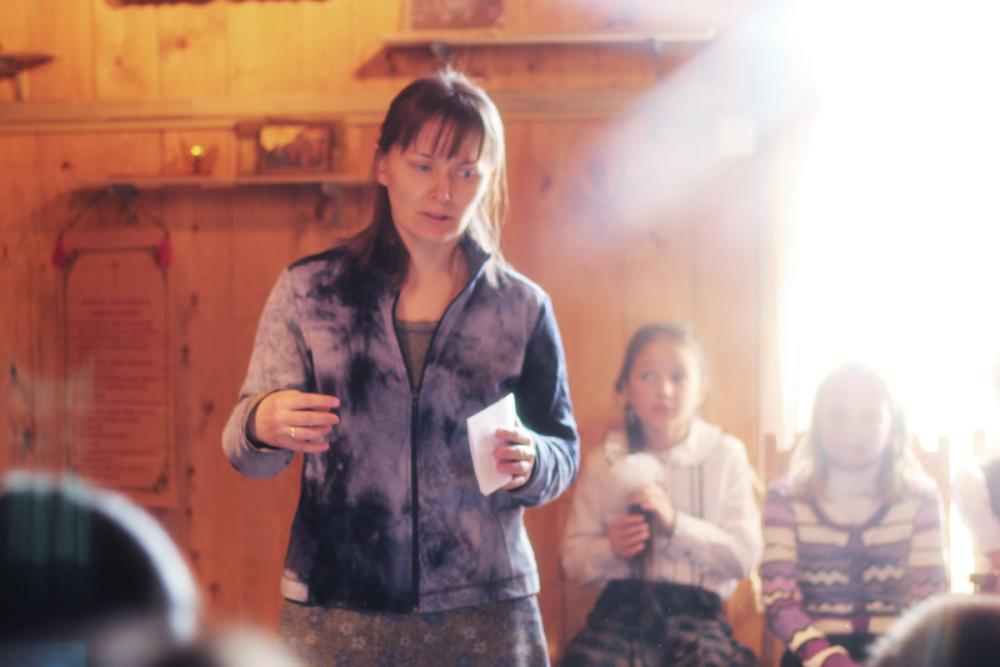 Участник проекта Анна Саратовская рассказывает о том, как вместе с детьми мы размышляли о Рае