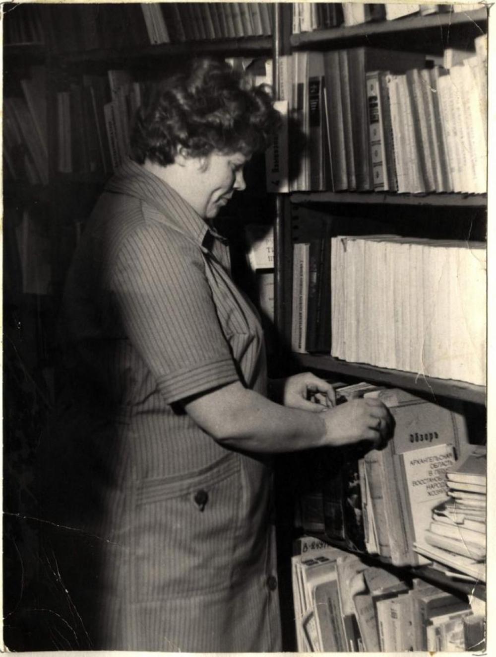 Серафима Александровна Лёвкина - первый библиотекарь музея