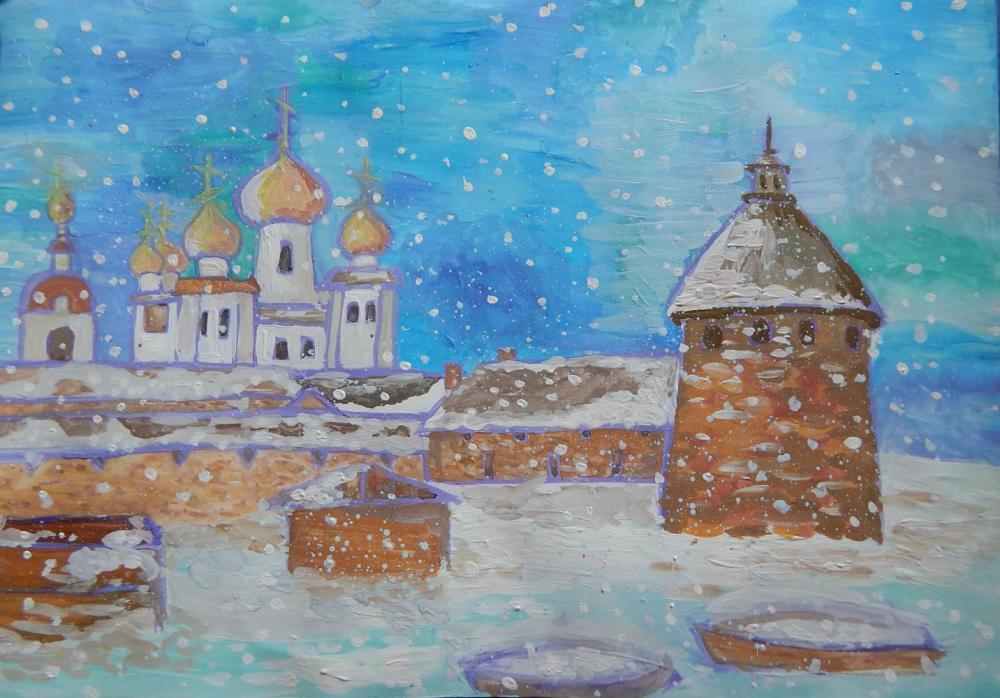Ковалева О. Зимний сон Соловков