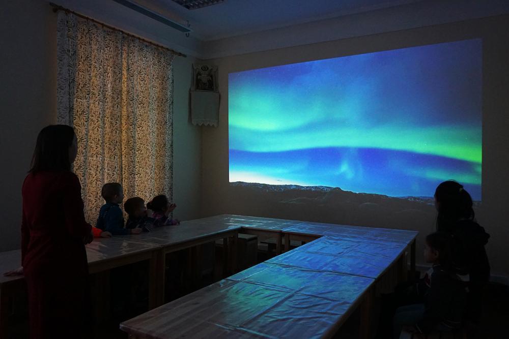 Вдохновляемся! Занятие Алёны Атамановой с дошкольниками.