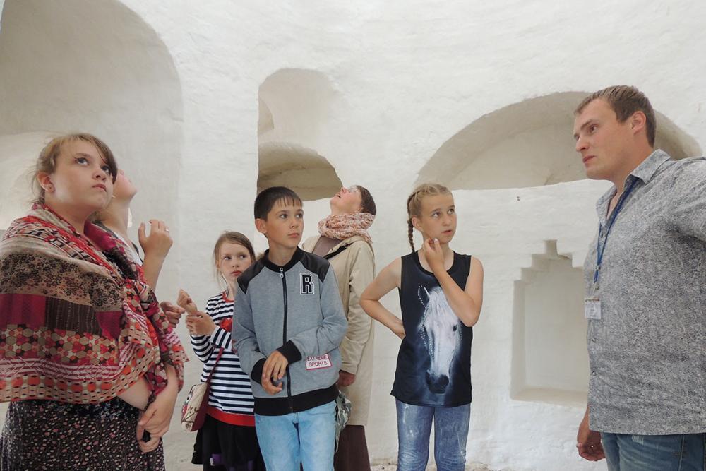 Интерактивная экскурсия «В поисках тайной комнаты». Ферапонтово