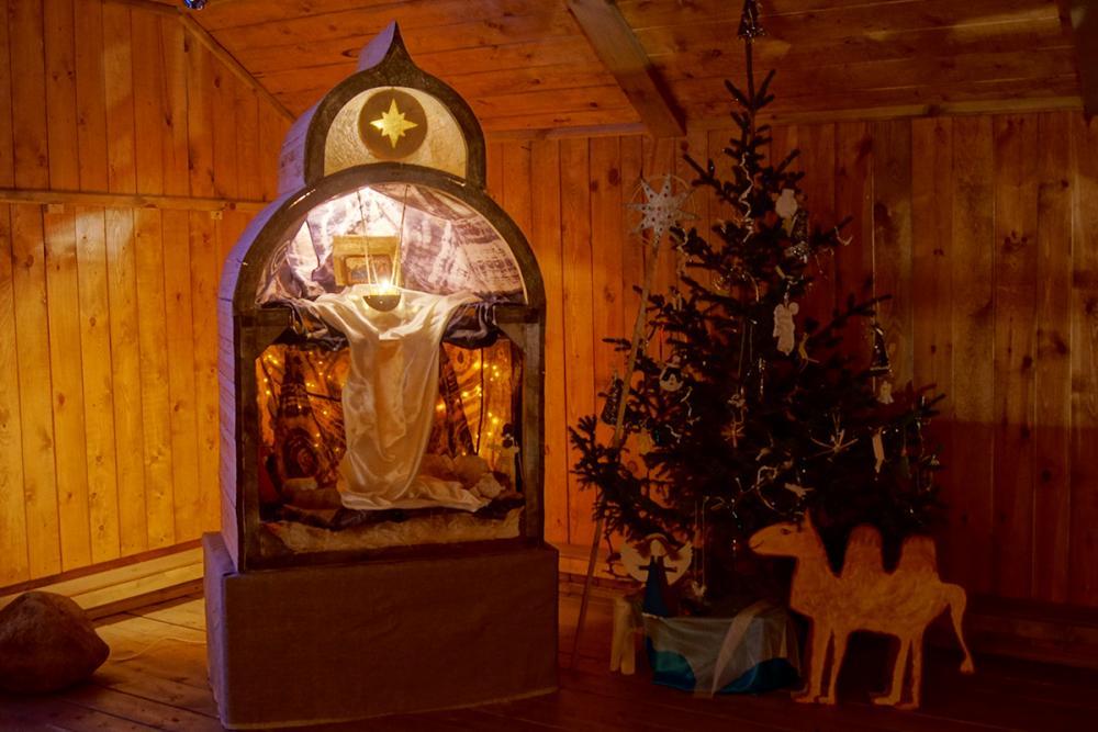 Рождественский вертеп в Морском музее