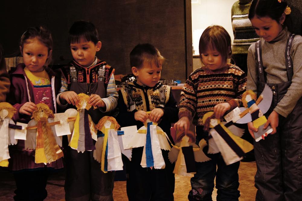 Дети и их ангелы