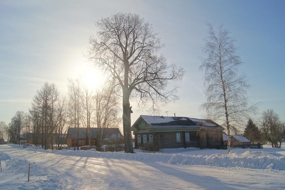 Деревня Ёрга (с. Воскресенское)