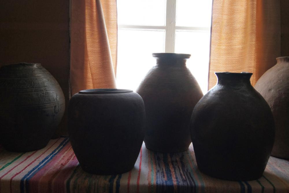 Коллекция ёрговской керамики ЦТНК с. Воскресенское (Ёрга)