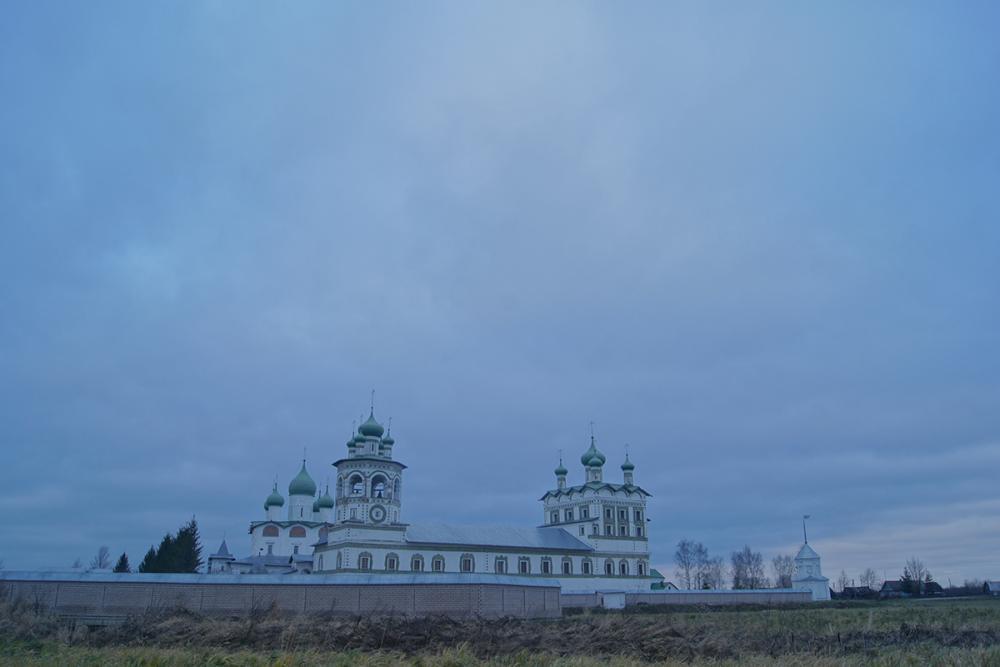 Вертоград. Николо-Вяжищский монастырь. Конец XVII – начало XVIII в.