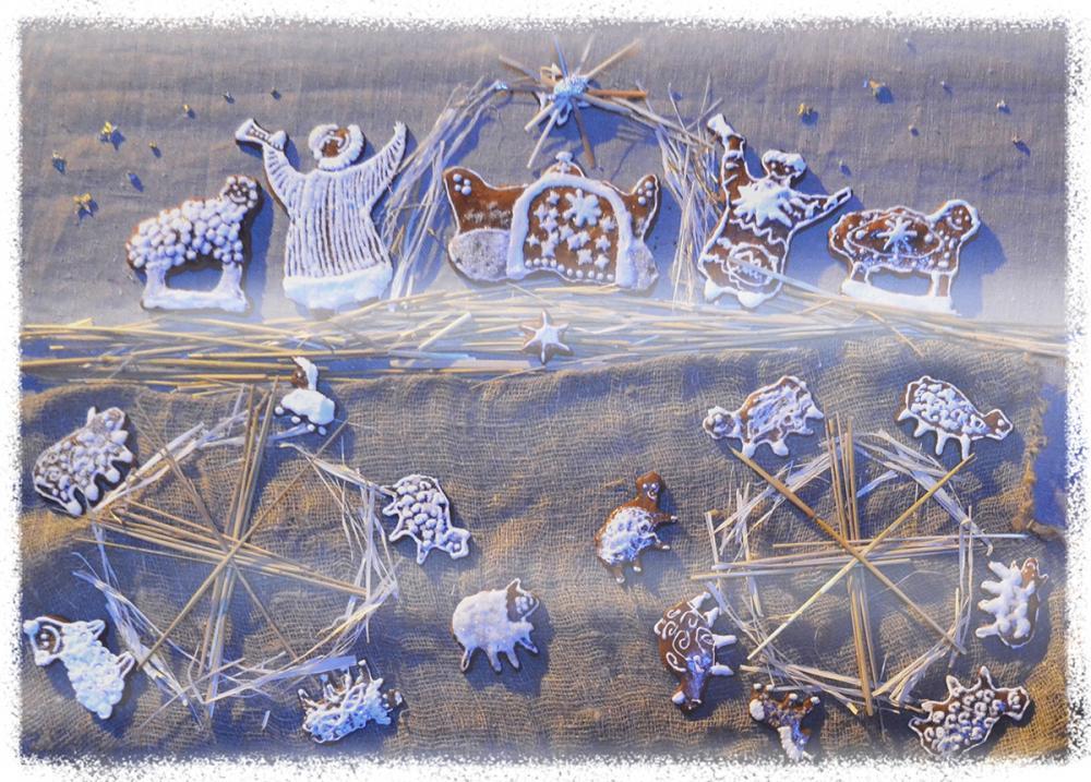 «Козульная» композиция о Рождестве