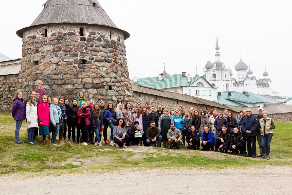 Летняя школа САФУ-ВШЭ. Фото П. Нечаевой