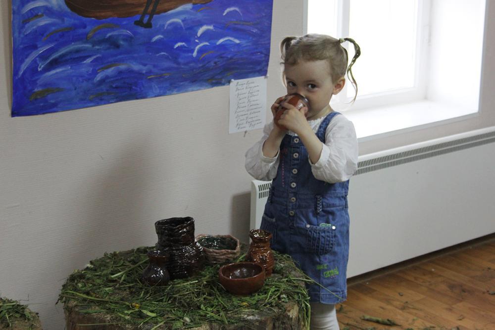 «Детская посудка» – работы соловецких школьников, выполненные под руководством студентов СПГХПА