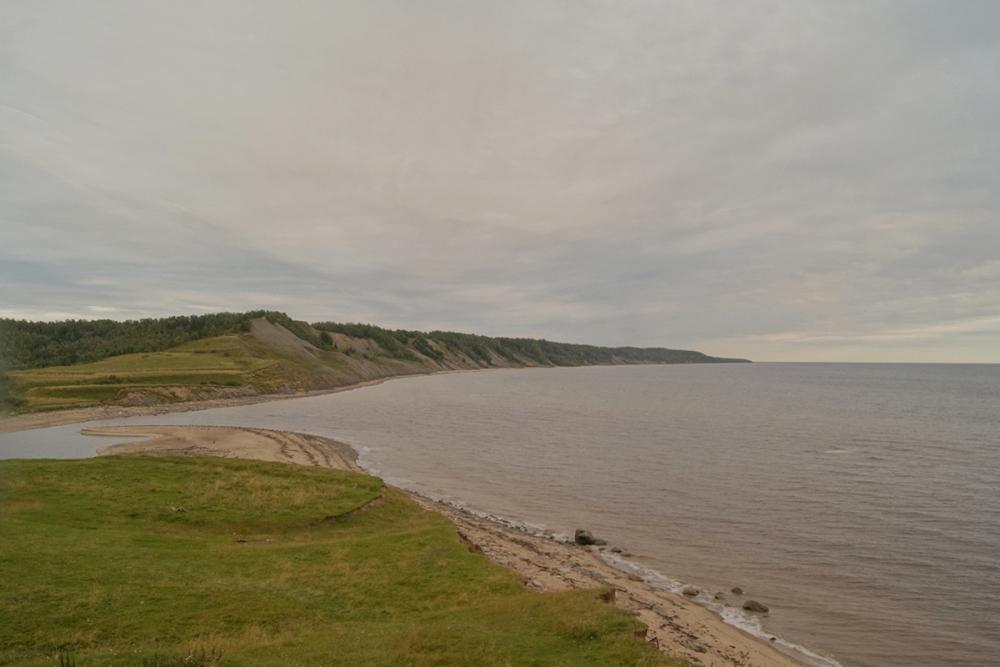 На побережье Белого моря, близ деревни Лямца
