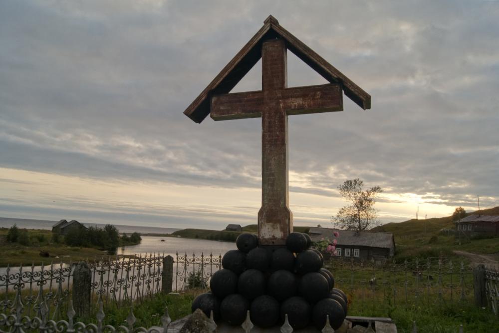 Памятный крест д. Лямца