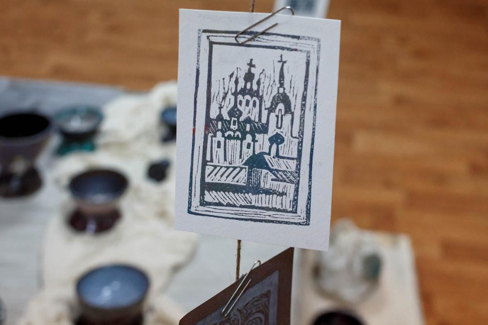 Памятная открытка из серии «Град Соловецк». Автор – Анастасия Любич