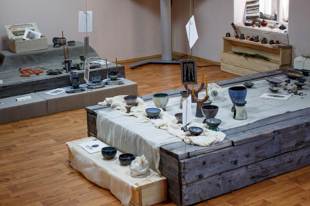 Композиции выставки