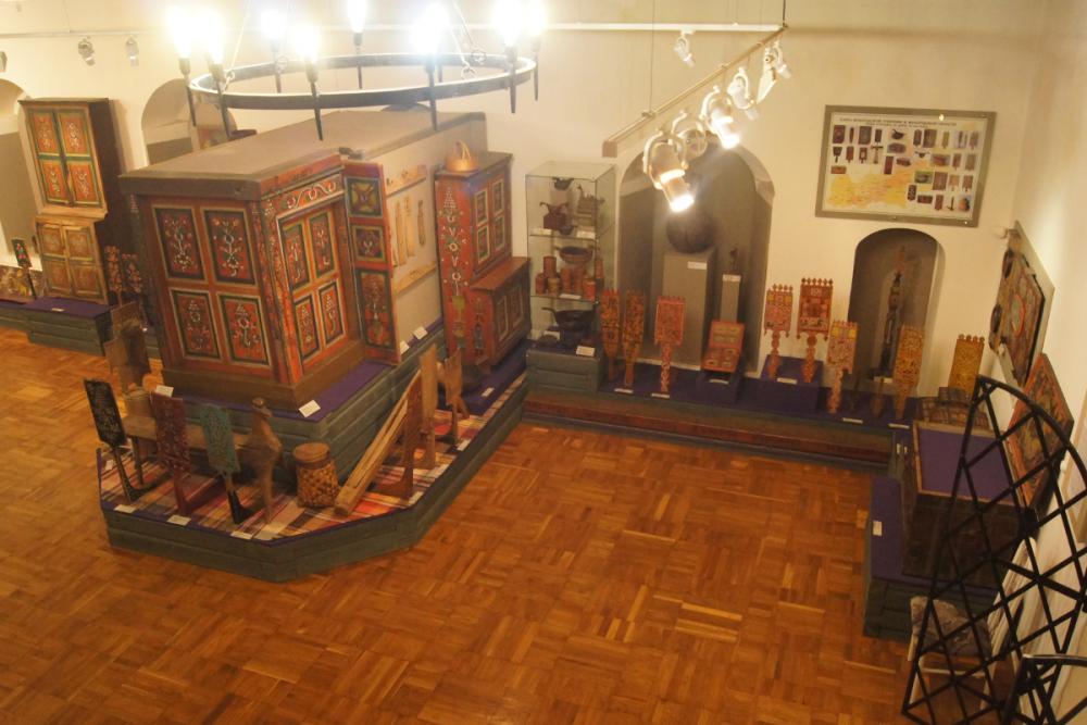 На экспозиции Вологодского музея-заповедника по народному искусству